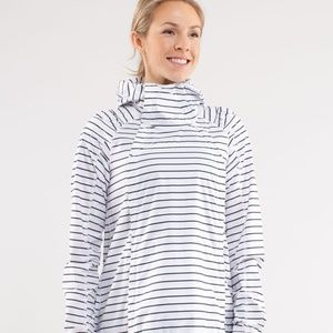 Lululemon Pack and Go Pullover Quiet Stripe 8